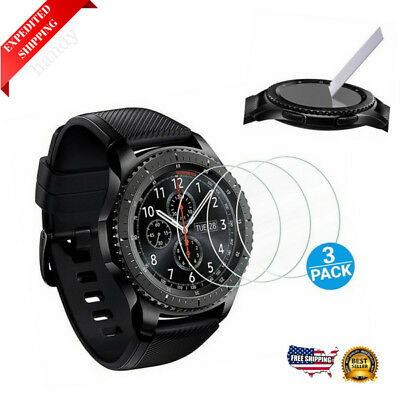 Screen Protector for Samsung Gear S3 Frontier Classic Smartwatch Tempered Glass