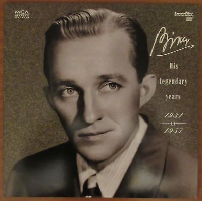 Bing Crosby: His Legendary Years 1931-1957 (1993) - USA MCA Laserdisc