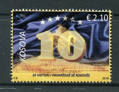 Kosovo 2018 MNH Independence 10th Anniversary 1v Set Stamps