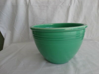 Vintage Fiesta Ware Light Green #4 Mixing Bowl w/ Rings Free Shipping