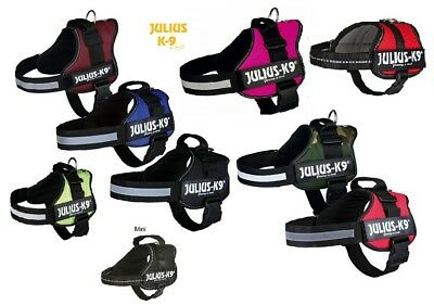 Julius K9 Power Harness Strong Adjustable  Reflective Dog Puppy Harnesses