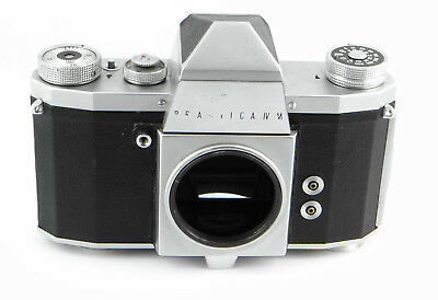 Pentacon Praktica IV M - M42 SLR Body # 420340 - Germany 3/1961 bis 3/1964