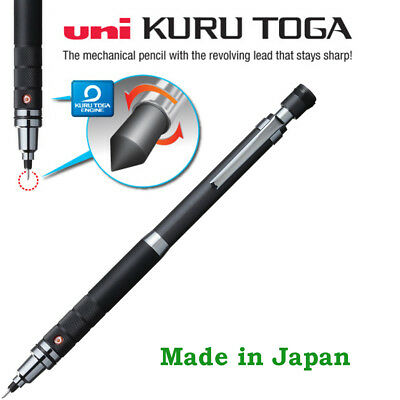 Uni Kuru toga Mechanical pencil 0.5mm roulette: Gun Metallic