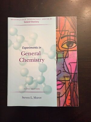Experiments in general chemistry cengage laboratory series for experiments in general chemistry by steven l murov 2006 paperback 5th ed fandeluxe Images