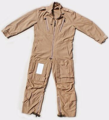 Flight Suit Overalls / RAF Aircrew Coveralls MK16A (Sand / Desert) Grde 2 Size 8