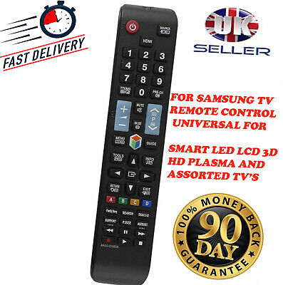 Replacement Samsung Universal Remote Control For assorted SMART TV`s & Monitors