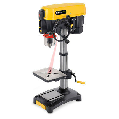 Powerplus 12 Speed 500 watt, 240v Motor Bench Drill Press with Laser POWX154