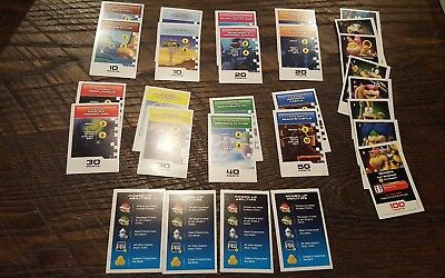 Monopoly Gamer Replacement Pieces Property Cards And Bowser Cards