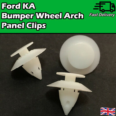 X Ford Ka Wheel Arch Trim Clips Front Wing Rear Quarter Bumper Panel Plastic