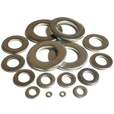 316 Freepost Penny Washers Stainless Steel A4-Marine Grade M3 to M12