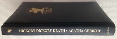 Hickory Dickory Death by Agatha Christie (1984, leatherette)