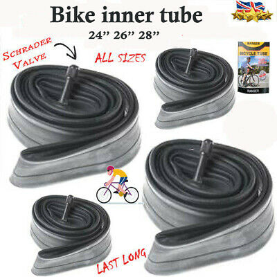 "Bike INNER TUBE 26"" 1.50-1.75 Bicycles inner tube Sizes 14"" 16"" 18"" 24"" 26"" 28"""