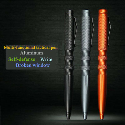 Tactical Pen Self Defense Survival Glass Breaker Emergency Multi-Function Tools