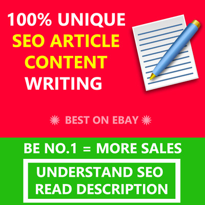 Seo Article Content Writing Service 500+ Words Unique Articles Optimized Quality