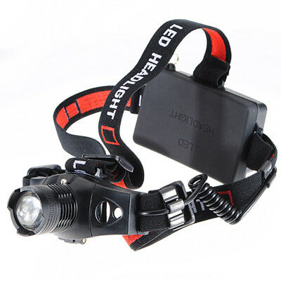 1200lm Headlamp Q5 LED Headlamp Light Headlight Camping Fishing Hunting A1X2