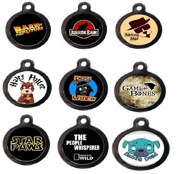PS Pet Tag Luxury Funny Film & Tv Engraved Free, Personalised Identity Dog ID