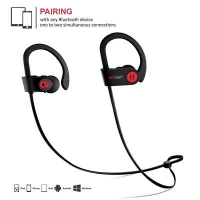 Bluetooth Headphones Wireless Earbuds Sweatproof Sport Earphones Stereo Headset