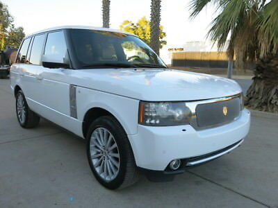 2012 Land Rover Range Rover Supercharged 5.0-liter V8 / 510hp