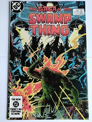 The saga of the swamp thing #20 first alan moore
