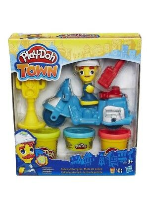 Playdoh Town Mini Vehicle Blue One - Toys Brand New Free Delivery
