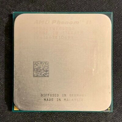 AMD CPU Phenom II X4-960T Black 3.0GHZ Socket AM3 HD96ZTWFK4DGR - DEFECTIVE