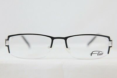 b9c182e979 GREAT VINTAGE FLAIR Jet Set Rimless Eyeglasses Brille New! Made In ...