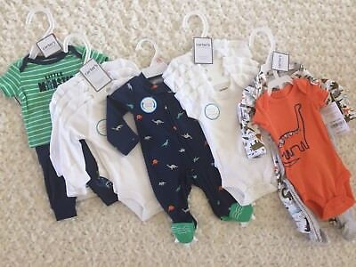 Carters Preemie Boy Lot Of 16 Pieces MSRP $114 (B8)