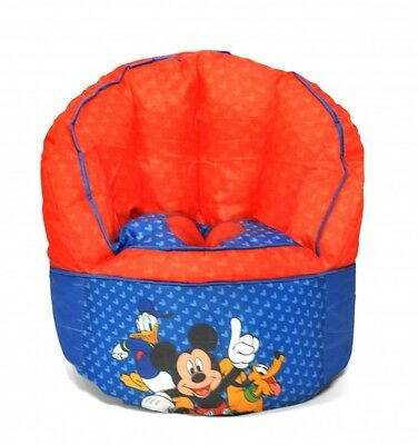 Mickey Mouse Bean Bag Chair For Toddlers Playroom And Child Bedroom