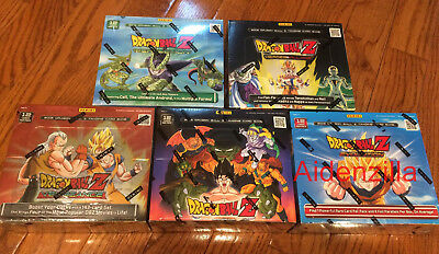Dragon Ball Z TCG - Panini - 5 Boxes - DBZ Cards  Evolution Perfection Vengeance