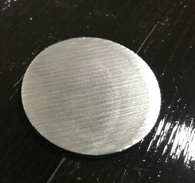 """1/8"""" Steel Plate, Disc Shaped, 2"""" Diameter, A36 Steel, Round, Circle"""