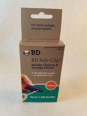 BD Safe Clip Needle Removal Device, Removes used syringe needles safely & easily
