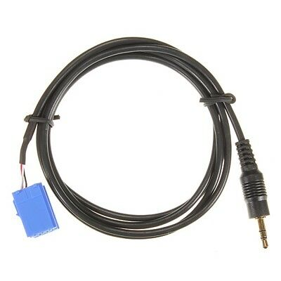 Aux In Input Adapter Interface Cable For Blaupunkt Car Radio Ipod Mp3 3.5Mm E4C5