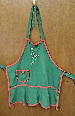 Peace Christmas Apron from unknown manufacturer made in late 1990's - early 2000