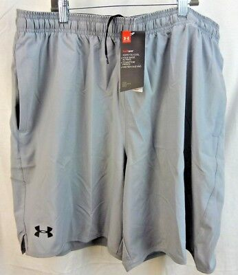 "Under Armour 1277142 789 Men's Qualifier 9/"" Woven Blue Shorts"