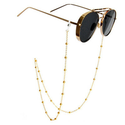 Fashion Shiny Eyeglass Cord Reading Glasses Eyewear Spectacles Chain Holder New