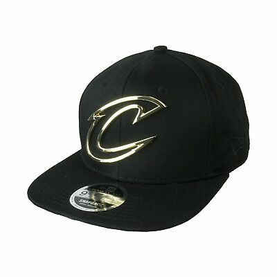 New Era 9Fifty Metal Badge Cleveland Cavaliers Cavs Snapback Cap Cappello 00ef7f945553