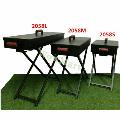 New Foldable Charcoal Heavy Duty BBQ Grill #2058 - 45 / 60 / 80cm + Free Tools