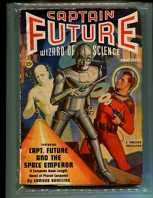 Captain Future Vol. 1 No. 1 Winter 1940 - Scarce First Issue! SEEN IN BIG BANG!!