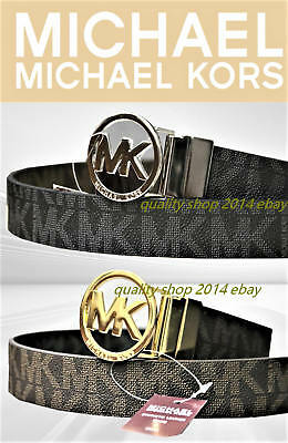Michael Kors belt  reversible black, brown