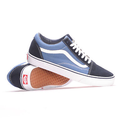 Vans Old Skool (Navy) Men's Skate Shoes