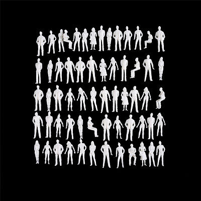10 PCS 1:50 scale model human scale HO model ABS plastic peoples   O