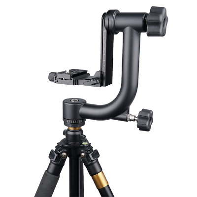 360° Swivel Pro Panoramic Gimbal Tripod Ball Head For DSLR Camera/Telephoto Lens