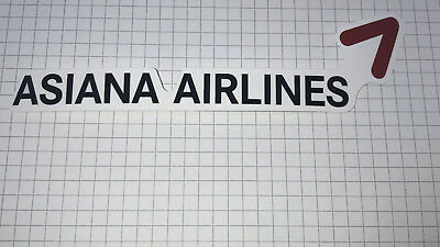 Airline Sticker Asiana Airlines - Outdoorgeeignet
