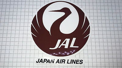 Airline Sticker Japan Airlines - Outdoorgeeignet