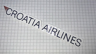 Airline Sticker Croatia Airlines - Outdoorgeeignet