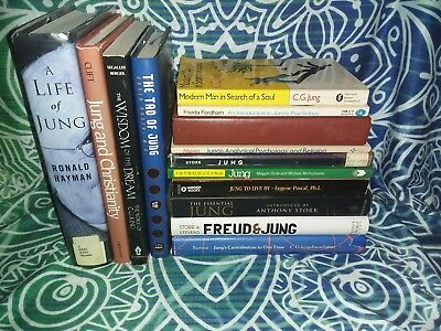 Carl Jung / Jungian 14 Books LOT - Analytical Psychology - Biography / Dreams CG
