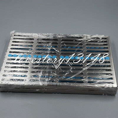 Sterilization Cassette Rack Tray Hold 20 Silcone Dental Instrument Autoclave