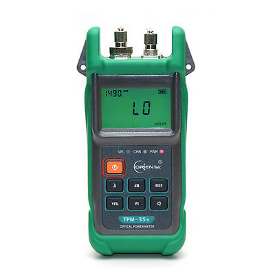 Orientek TPM-35v Fiber Optic Power Meter Visual Light Source Optical Power Meter