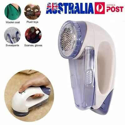 Electric Sweater Clothes Lint Pill Fluff Fuzz Shaver Portable Fabrics Remover