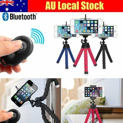 Bluetooth Flexible Mini Octopus Tripod Bracket Holder Mount Stand for iPhone 7 8
